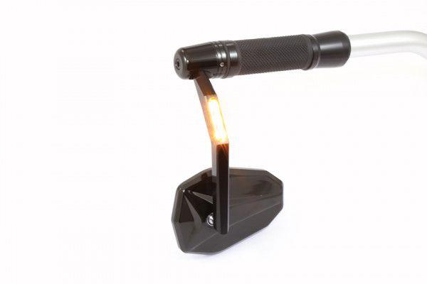 Lenkerendenspiegel VICTORY mit Blinker LED Highsider