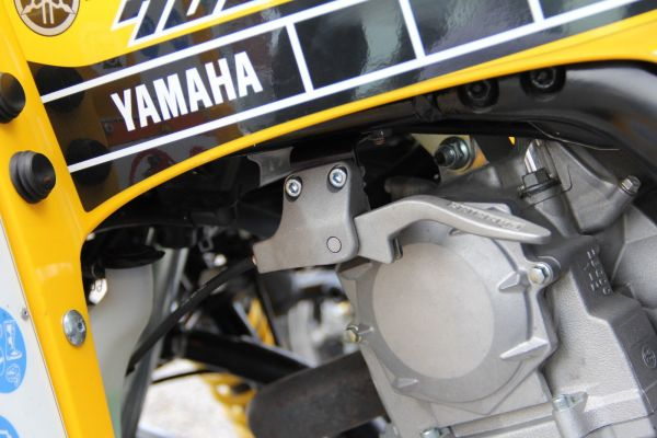 Handbremsenhalter Tieferlegung Yamaha Raptor YFM 700 Handbremse