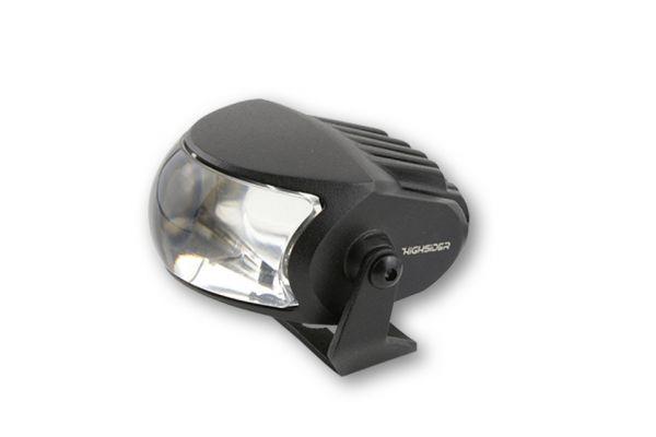 Fernscheinwerfer HIGHSIDER LED COMET- HIGH, matt schwarz