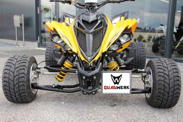 Kennzeichenhalter vorne Yamaha YFM 700 Raptor Kennzeichenhalterung -2014
